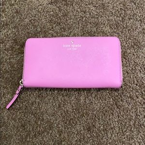 Kate Spade Cedar Street Lacey Wallet Rouge Pink